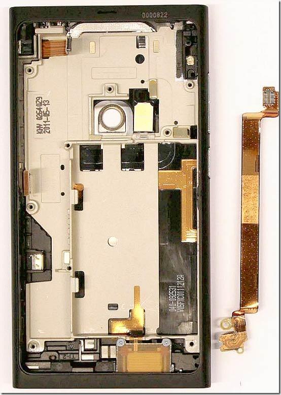 Nokia N9 шлейф