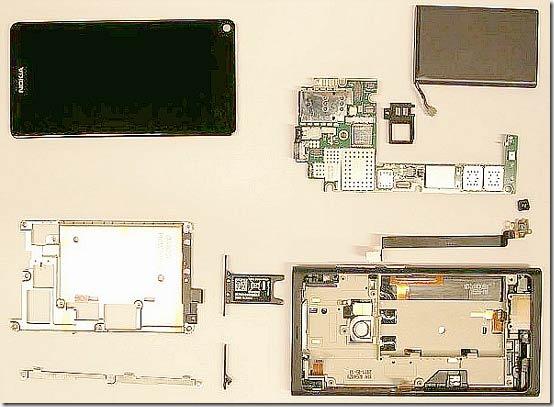 Nokia N9 раскурочили