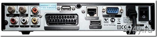 GI-S8120 вид сзади