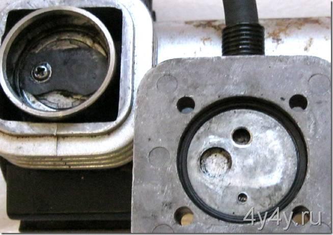 Компрессор CA-030-06 ремонт клапана