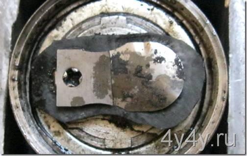 ремонт клапана автомобильного насоса